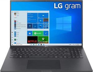 LG GRAM 16Z90P black nesiojami.lt