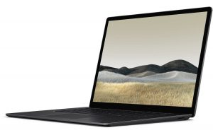Microsoft Surface Laptop 3 black nesiojami.lt